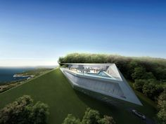 Concept villas for golf and spa resort, Dubrovnik, by Zaha Hadid Architects | DesignDaily