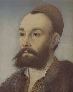 Anton Fugger von der Lilie *1493+1560- Hans Maler von Schwaz (German, Ulm*1480, died c.1526–29)-Stärkung für die Stiftungen-heir and nephew of Jacob II.''Rich''-Jakob Fugger der Reiche und seine Frau Sibylle Artzt waren kinderlos geblieben. In seinem Testament bestimmte Jakob seinen Neffen Anton Fugger zum alleinigen Nachfolger. Im Jahr 1525 übernahm dieser mit 32 Jahren die Leitung der Firma und führte sie überaus erfolgreich bis zu seinem Tod 1560. Anton Fugger richtete die Firma wie die…