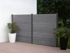 Image result for modern fence panels