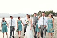 Love the color of the bridesmaid dress Photographed by Elizabeth Lloyd Photography