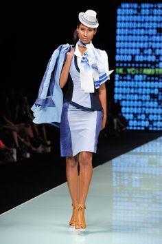 Miami Fashion Week 2014 AOS Eastern Airlines Mini Fedora by Elaine Scantlen