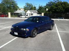 BMW : M5 Base Sedan 4-Door 2003 bmw m 5 e 39 lemans blue caramel just serviced 43 000 miles