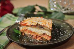 the chew | Recipe  | Kristina Scaviola's Homemade Sausage And Eggplant Lasagna