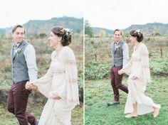 Rosencrown Photography | Brunch Elopement | Portland, OR Wedding Photographer | Fall/Autumn Wedding