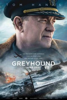 Tom Hanks Starrer Greyhound To Release In June 2020 And Film Trailer Out Now. Here is the upcoming war film Greyhound Box office collection. The film starring Tom Hanks, Stephen Graham Elisabeth Shue, 2020 Movies, Hd Movies, Movies Online, Movie Tv, Drama Movies, Action Movies, Apple Tv, Bad Trip