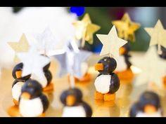 Faire des pingouins pour l'apéritif