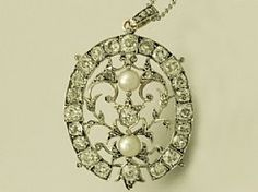 A fine antique Victorian 4.30ct diamond and pearl 15 carat yellow gold pendant / brooch; an addition to the AC Silver jewellery range  http://www.acsilver.co.uk/shop/pc/4-30-ct-Diamond-and-Pearl-15-ct-Yellow-Gold-Pendant-Brooch-Antique-Victorian-171p2651.htm#