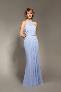 Winter bridesmaid dress from Mark Lesley