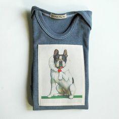 Valentine Dog Cute Valentine tshirt for Baby by LePetitMonAmi, $18.00  www.lepetitmonami.com