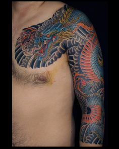 Tattoos Traditional Japanese Page 4 Dragon Sleeve