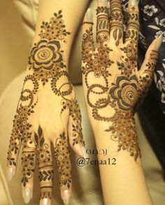 ART : HENNA‎, ‫حنا‎‬, MEHNDI ,‎‫حِنَّاء‎‬ : More Pins Like This At FOSTERGINGER At Pinterest نقش حنا