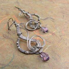 Earrings on a cloud A.