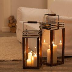 Stylowe świeczniki