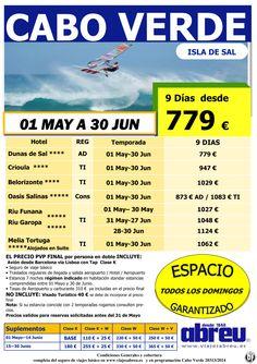 CABO VERDE Isla de Sal desde Barcelona 01 May a 30 Jun 9 días desde 779 € pvp final ultimo minuto - http://zocotours.com/cabo-verde-isla-de-sal-desde-barcelona-01-may-a-30-jun-9-dias-desde-779-e-pvp-final-ultimo-minuto/