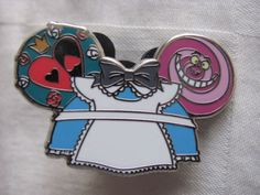 Disney-Trading-Pin-98961-Character-Earhat-Mystery-Pack-Alice-in-Wonderland