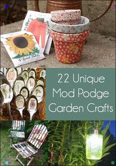 Unique Garden Crafts Made with Mod Podge - Mod Podge Rocks for adults to sell store crafts crafts Craft Projects For Adults, Arts And Crafts For Adults, Easy Arts And Crafts, Summer Crafts For Kids, Arts And Crafts Projects, Summer Diy, Diy Crafts To Sell, Diy Projects, Simple Crafts