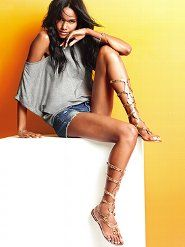 awesome gladiator sandals from victoria secret