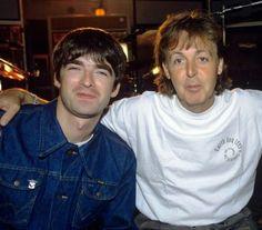 Noel Gallagher Paul McCartney