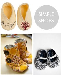 simple baby shoes - Those boots would actually stay on.