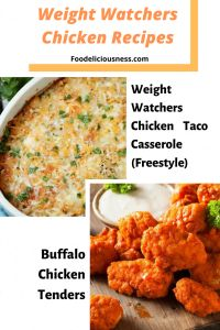 EASY WEIGHT WATCHERS CHICKEN RECIPES -  Do you always worry about calories while enjoying your favorite meal? We have a solution for you! Check out these few easy Weight Watchers Chicken Recipes with Points.      #ChickenRecipes, #Crispy, #SmartpointsRecipes, #WeightWatchers  @foodeliciousness Ways To Eat Healthy, Healthy Dishes, Healthy Recipes, Eating Healthy, Cooking Recipes, Pork Recipes For Dinner, Vegan Breakfast Recipes, Chicken Recipes, Chicken Taco Casserole