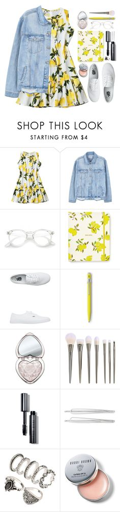 """#1129 Angela"" by blueberrylexie ❤ liked on Polyvore featuring MANGO, Kate Spade, Vans, Too Faced Cosmetics, Bobbi Brown Cosmetics and Cara"
