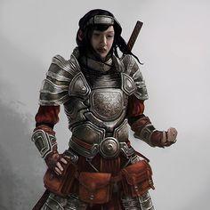 Far East warrior