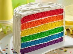 Rainbow Cake, Birthday Cake, Made to Order, Noosa Sunshine Coast Cake Shop with Delivery