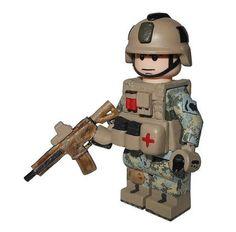 custom lego military | US Army Special Forces Custom Minifigure