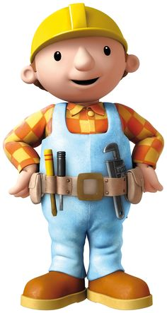 bob the builder - Bing images Male Cartoon Characters, Cartoon Shows, Bob The Builder Characters, Bob The Builder Cake, Feathered Bob, Bob Haircut For Fine Hair, Angled Bob Hairstyles, Construction Birthday, Cute Cartoon Wallpapers