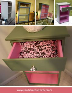 These drawers really pop... beautiful!