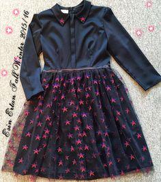 Esin Ertan Fall Winter 2015/16 black  Star Dress ✌️Esin Ertan Sonbahar Kis koleksiyonumuzdan yildizli Elbisemiz  Esin Ertan Woman Cosmo Collection  #esinertan
