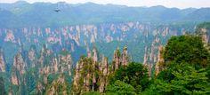 Zhangjiajie National Forest Park in Hunan Province, China | Cheapflights.co.uk #CheapflightsGG