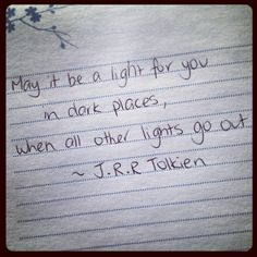 Galadriel quote to Frodo from Lord of the rings by J.R.R Tolkien