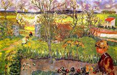 Early Spring / Pierre Bonnard - 1908