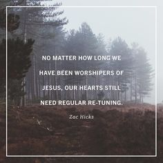 """""""If they wanted to worship leaders in many churches could get away with a lot in the first song each Sunday. People are coming in late trying to settle their kids silencing their phones checking their phones wrapping up conversations or just generally disoriented. The truth is many of us walk into worship not quite ready to worship. We need a little time to center and focus ourselves. Some of us are frustrated with our kids. Some are disheartened about our work. Some are stressed about the…"""
