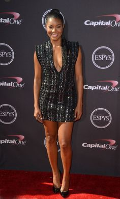 Gabrielle Union at the #ESPY Awards. Styled by RZ Studio.
