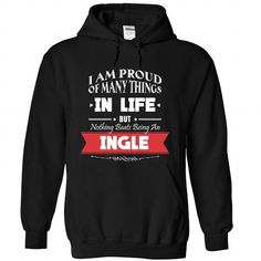 INGLE-the-awesome - #tshirt dress #tshirt display. SATISFACTION GUARANTEED => https://www.sunfrog.com/LifeStyle/INGLE-the-awesome-Black-74073540-Hoodie.html?68278