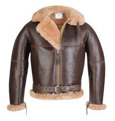 """The Irvin"" After American Leslie Irvin, the inventor of the Rip Cord and Irvin Parachute. This is the RAF Sheepskin Flying Jacket WWII BOB (Battle of Britain Spec). I think I would only wear this when I owned a Spitfire and decide to go for a joy ride. Come on Lotto!"