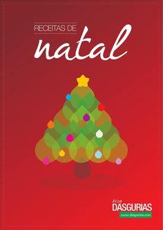 Receitas de Natal  Receitas de Natal do blog dasgurias.com