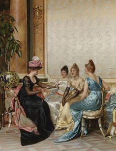 Charles Joseph Frédéric Soulacroix (1825 - 1879) - Médisance