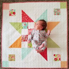The 5 Fastest Baby Quilts I've ever made by Gigi's Thimble