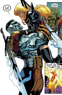 All New X-Men #17 - Colossus and Magik by Stuart Immonen
