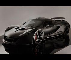 Hennesy Venom...smirk detected? I think so.