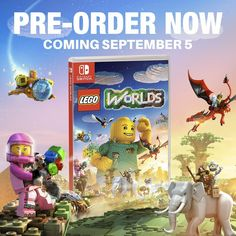 Lego Worlds coming to Nintendo Switch