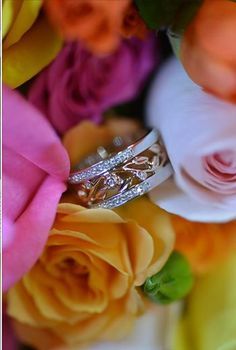 Jewelry and flowers on Valentine's Day. Making it a special day for all the lovers in San Carlos California.