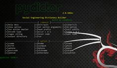 KitPloit - PenTest & Hacking Tools for your CyberSecurity Kit ☣: pydictor - A Powerful and Useful Hacker Dictionary Builder for a Brute-Force Attack