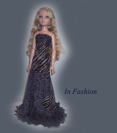 Evening Gown For  Ellowyne Wilde Doll by InFashions on Etsy, $7.99