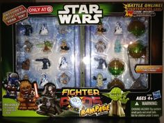 Amazon.com: Exclusive Special Edition Yoda Tin Star Wars Fighter Pods Set: Toys & Games