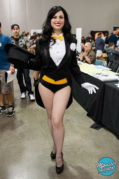 Meagan Marie as Zatanna | Big Wow! ComicFest 2013 by Monster Bento #Costumes #Cosplay