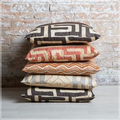 Wallace (guell-lamadrid.com): This collection is inspired by tribal patterns #collection2017 #tribal #ethnic #cotton #home #homedesign #homedecor #decor #decoration #homesweethome #interior #interiordesign #textiles #textildesign #textilefever #fabric #pattern #texture